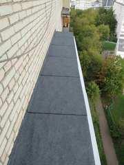 Кровельщики. Ремонт крыши и козырька балкона